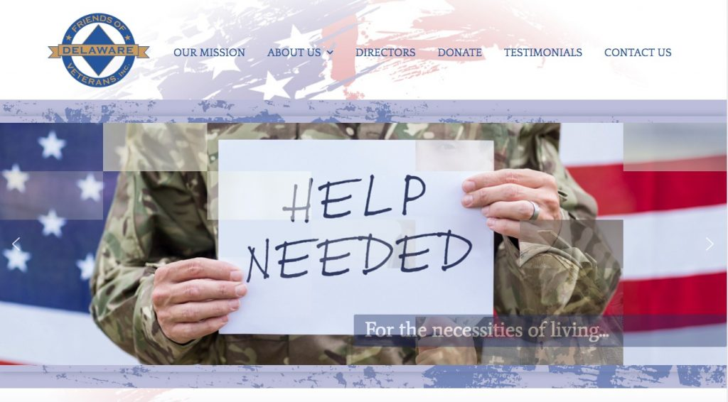 Delaware Veterans Trust Fund Website