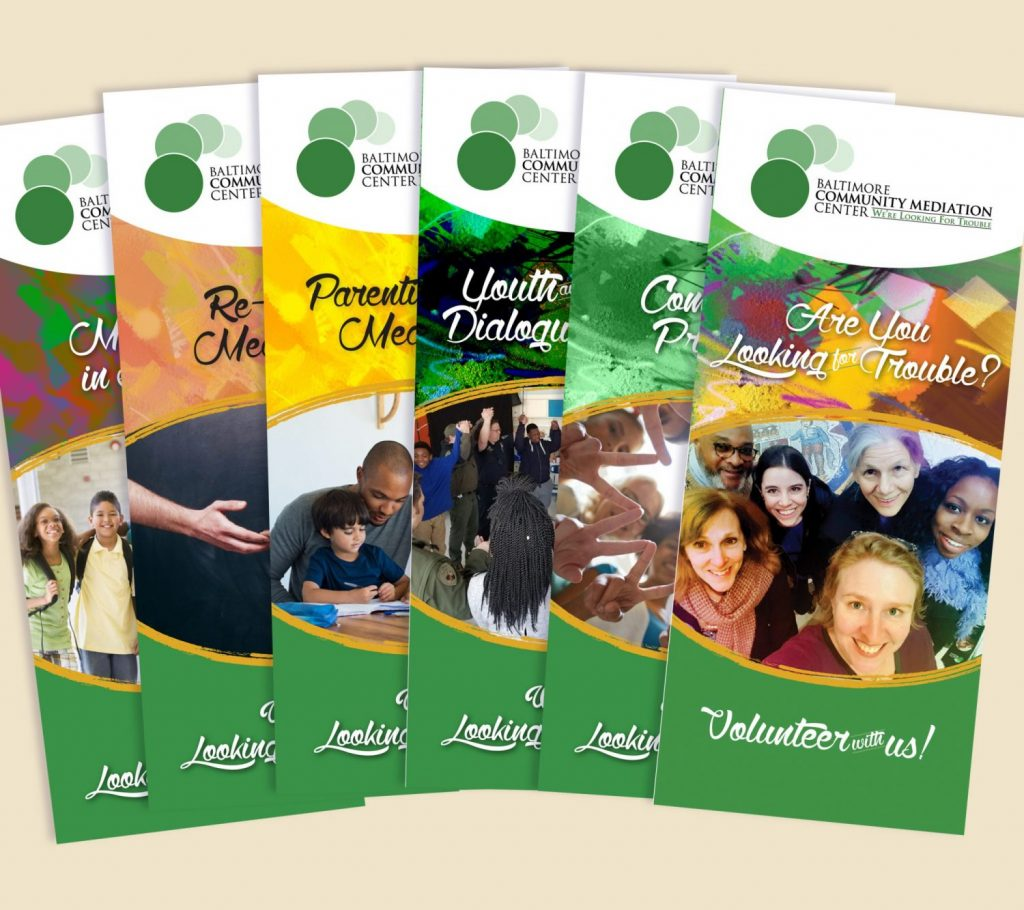 Baltimore Community Mediation Center Brochures