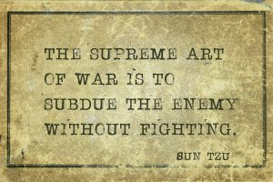 Subdue the Enemy without Fighting